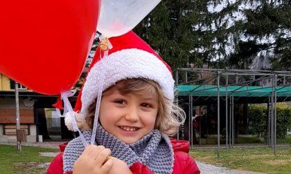 I desideri di Ginevra volano da Eupilio a Talamona grazie a un palloncino