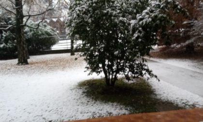 Ancora fiocchi di neve nel Comasco