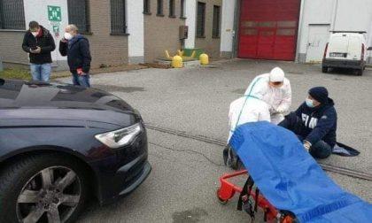 Presidio alla Voss di Osnago, l'AD dell'azienda urta con l'auto il sindacalista comasco Andrea Donegà