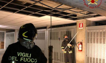 Perdita d'acqua in un condominio a Cernobbio