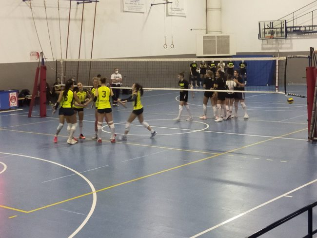 albese Volley test con Orago