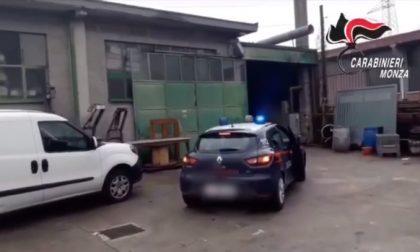Due operai arrestati, ricercato un complice. Refurtiva in un capannone di Mariano FOTO