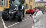 A Figino la tradizionale benedizione dei trattori FOTO