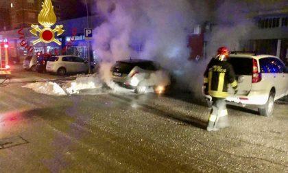Intossicazione da monossido a Cabiate e auto in fiamme a Pontelambro