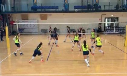 Albese Volley buon ultimo test di fine anno per la Tecnoteam a Milano