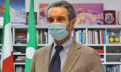 """Il presidente Fontana: """"Lombardia confermata in zona gialla"""""""