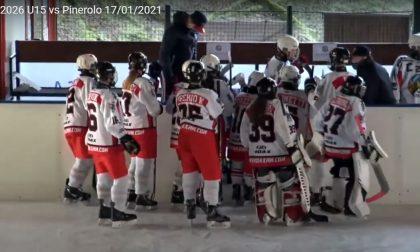 Hockey Como gli U15 lariani debuttano perdendo in casa con il Pinerolo