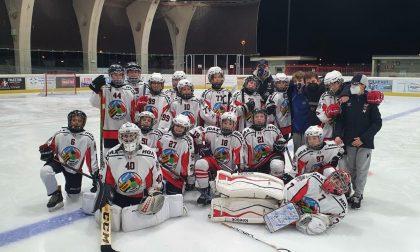 Hockey Como gli under13 capolista sbancano anche la pista dei Milano Bears