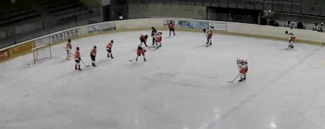 Hockey como U15 ko a valpellice