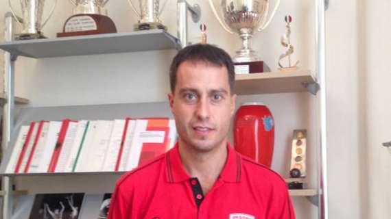 Pallacanestro Cantù coach Massimo Bulleri