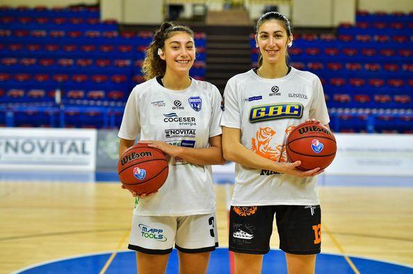 basket femminile le sorelle Laura e Marta Meroni di Albavilla