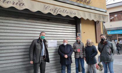 Protesta dei commercianti a Canzo: presente anche Turba