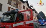 Principio di incendio a una canna fumaria: Vigili del Fuoco a Olgiate