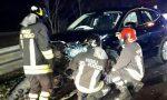 Incidente a Lurago, due feriti
