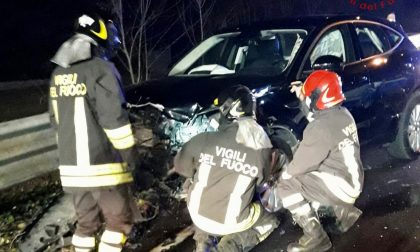 Incidente a Lurago, due feriti