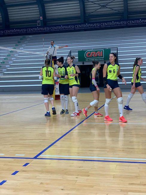 albese volley doppio test a milano