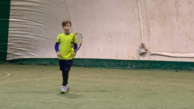Tennis Como Tommaso maglia al lemon Bowl