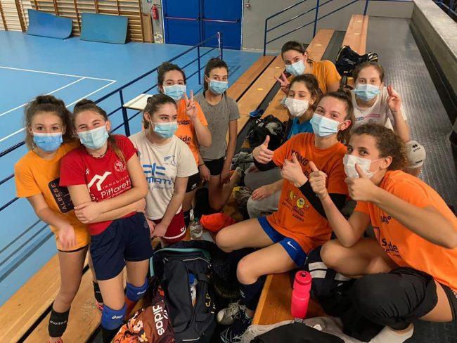 albese volley giovanili in palestra