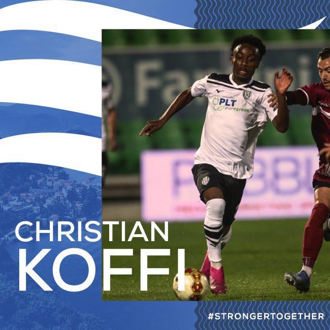 Como calcio Christian Koffi