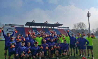 Rugby lariano il comasco Ruggeri vince con il suo Rovigo e sale al 2° posto