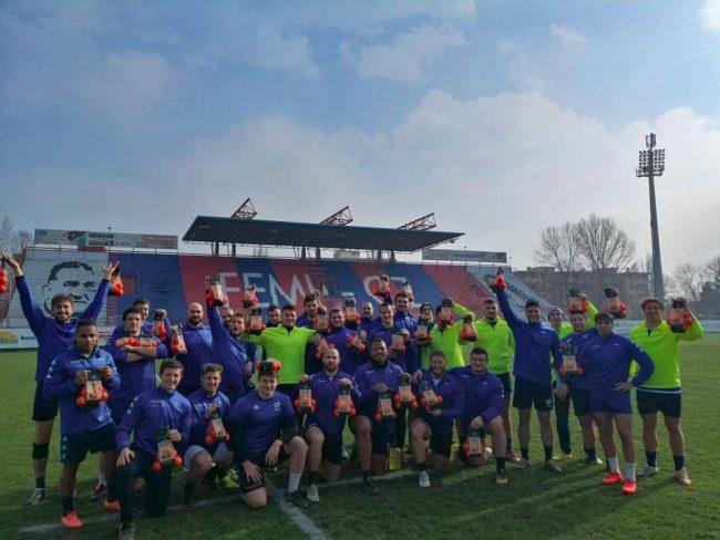Rugby lariano il Comasco Ruggeri e Rovigo