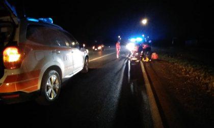 Due persone ferite sulla strada provinciale