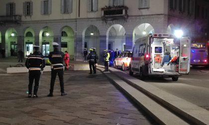Non ce l'ha fatta il 67enne caduto dalla bici in piazza Verdi a Como