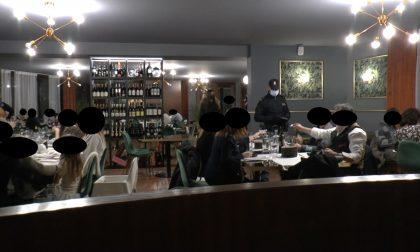 In 40 a cena al Ristorante La Pinetina di Appiano: tutti multati e locale chiuso per 5 giorni