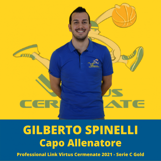pallacanestro lariana coach Gilberto Spinelli