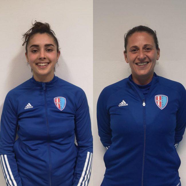 Calcio femminile Greta Di Luzio e Jenny Piro.