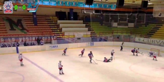 Hockey Como u15 ko a Miano