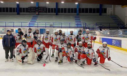 Hockey Como gli Under15 lariani beffati dai Bulldog Valpellice
