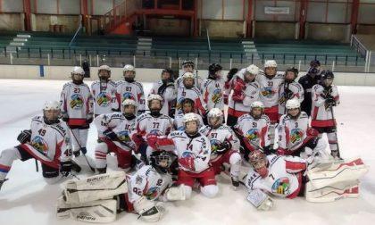 Hockey Como, gli Under13 battuti dall'Egna nell'andata dei quarti playoff