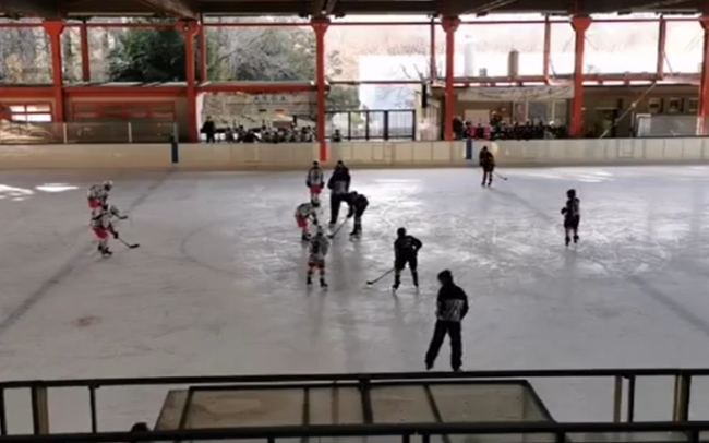 Hockey como Under15 contro Aosta