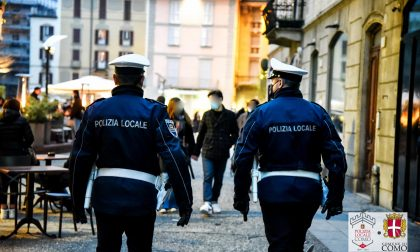 Controlli della Polizia locale nel fine settimana: fermato anche un minorenne in possesso di marijuana