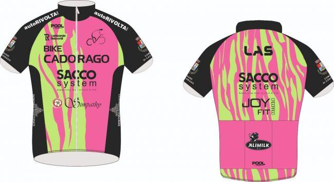 Ciclismo lariano Bike cadorago nuove divise