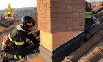 Incendio canna fumaria a Cavallasca