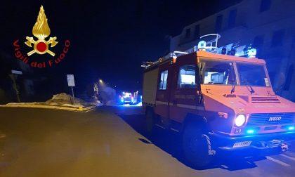 Incendio lavanderia in Alta Valle Intelvi