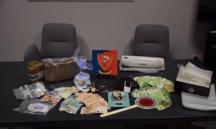 Operaio arrestato per spaccio: nel deposito droga e 19mila euro in contanti