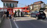 Auto ribaltata, donna estratta dai Vigili del fuoco