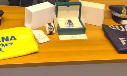 Trasportava orologi di lusso da Bellinzona a Milano: inglese denunciato per contrabbando ed evasione