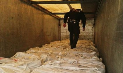 Fermato alla dogana un traffico illecito di rifiuti: sequestrati 20mila kili di metalli ferrosi