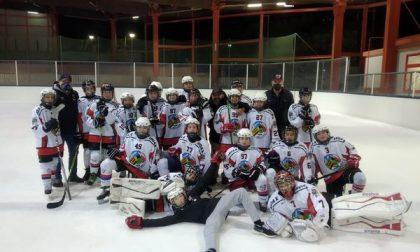 Hockey Como, gli Under13 lariani salutano la stagione ma con grande onore