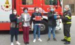 Leo Club Como Chronos dona due ozonizzatori ai Vigili del fuoco