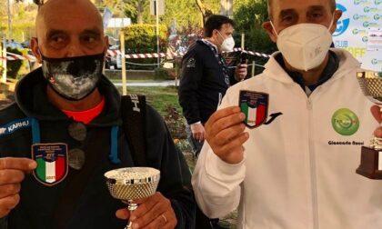 Tennis lariano a Pesaro: Primo Veneri centra il doppio titolo italiano Over 65