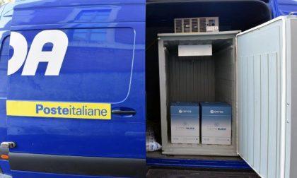 Poste Italiane consegna a Como altre 9.200 dosi di vaccino AstraZeneca