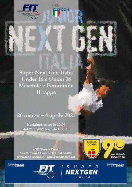 Tennis lariano Next Gen