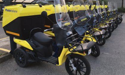 Poste Italiane, tricicli termici a basse emissioni in servizio nell'Olgiatese