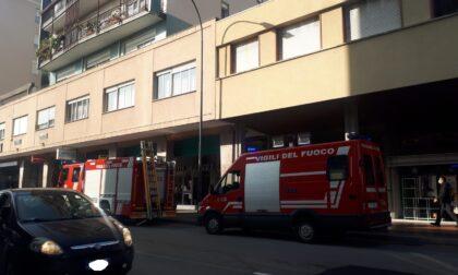 Sospetta fuga di gas a Erba