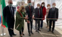 Inaugurato l'hub vaccinale di Lurate: si parte mercoledì con i primi 500 pazienti